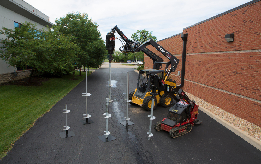 ELD Construction | Helical Piers