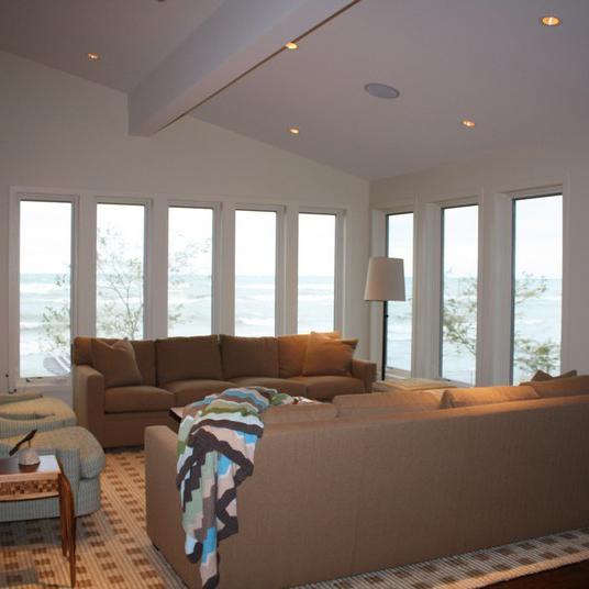 Eld contruction custom residential lakefront modern TN